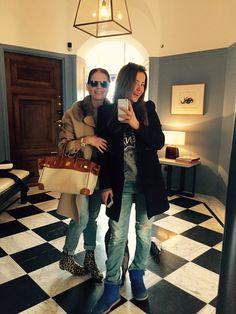 Chloe and Nathalie Schuterman