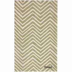 Handmade alexa chevron wool rug 7'6 x 9'6 $332.99 overstock.com
