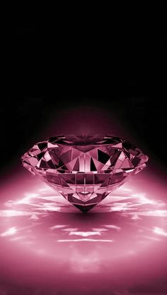 Black and pink diamond