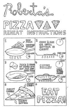 Pizza Reheating Instructions – SleazySpringer.dk