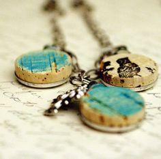 cork necklaces