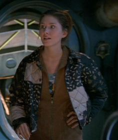Catalog of costumes from the TV show, Firefly and the movie, Serenity. Kaylee Firefly, Firefly 2, Firefly Serenity, Vintage Photo Booths, Vintage Photos, Firefly Cosplay, Jewel Staite, Space Pirate, Female Stars