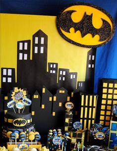 Batman Superhero Party Batman Party by PoppysmicBowtique on Etsy