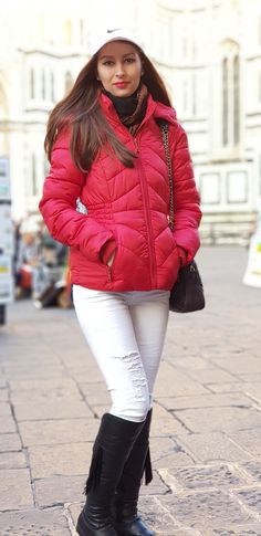 Stiletto and Red Lips - stilettoandredlips Florence Italy, Red Lips, Winter Jackets, Travel, Style, Fashion, Winter Coats, Swag, Moda