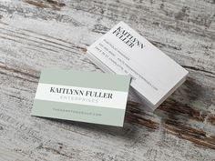 Custom business card design by Primoprint. With Matte, you have the option to include foil.