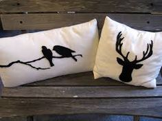 Image result for cushion cover silhouette