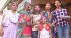 """Mumbai: Mumbai on Sunday saw the survivors of acid attacks celebrate the festival of Holi with much enthusiasm. All the girls, who have suffered substantially both at the physical and mental level ,were seen embracing life all over again. """"We are really enjoying ourselves and after going..."""