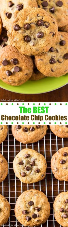 The BEST Chocolate Chip Cookies Recipe....seriously!!!