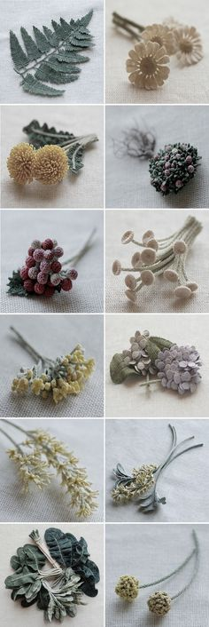 Exquisite crochet plants by fiber artist Itoamika Jung Jung.