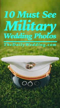 10 Awesome Photos from our military couples!  @TheDailyWedding