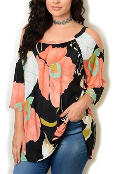 http://www.dhstyles.com/Black-Peach-Plus-Size-Trendy-Girly-Floral-Cold-Sho-p/sol-3032x-black-peach.htm