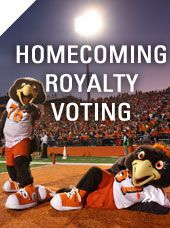 Homecoming royalty Voting- Don't forget to cast your vote!