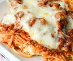 Million Dollar Spaghetti!