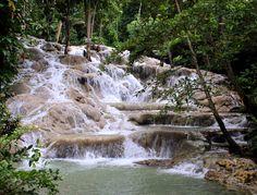 Dunn's River Falls, Ocho Rios, Jamaica #OneLoveJa
