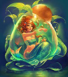 mermaid pics | Mermaid Drop by sakimichan on deviantART