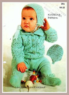 Hey, I found this really awesome Etsy listing at https://www.etsy.com/listing/168658633/pdf-pattern-vintage-baby-knitting