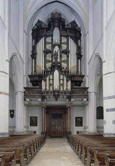 Het Smitsorgel in de Petruskerk in Oirschot