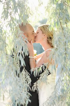Love this shot through the trees by Rebekah Westover Photography