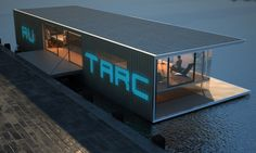 Eco Architecture: Mixed-use Autarc floating pavilion is sustainable to the core - Ecofriend