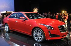 2014 Cadillac CTS debuts new design, twin-turbo power, Vsport model [w/video] -First time I could see myself buying a Cadillac.
