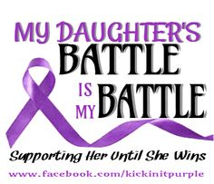 Even though she's dancing in Heaven now I will continue to raise awareness against Epilepsy.