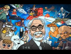 """In our work, the question is, how much you absorb from others. So for me, creativity, is really like a relay race. As children we are handed a baton. Rather than passing it onto the next generation as is, first we need to digest it and make it our own."" - Hayao Miyazaki"