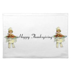 Thanksgiving Celebration Design sows a girl holding a turkey dish. This design is customizable and is available for a variety of products. Text adding is optional.
