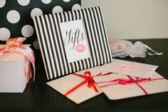 Bridal Shower Gift Table Sign White Bridal Shower, Bridal Shower Signs, Gift Table Signs, Southern Weddings, Gift Wrapping, Black And White, Rose, Gift Wrapping Paper, Pink