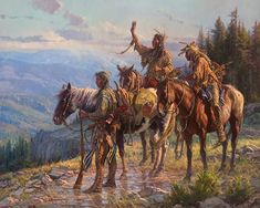 Martin Grelle is one of my favorite artists when it comes to American Indians in art!  This is a new release coming out this April ad it's gorgeous. See more about it at http://gallery4collectors.com/MartinGrelle-Reverence.htm