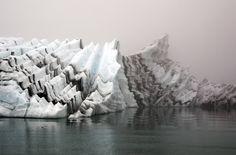 #art #photography #nature #iceberg #fog