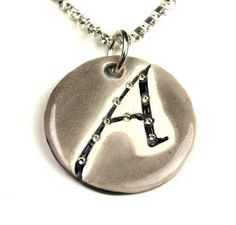 Atheist Sparkle Surly Necklace with Swarovski Crystals by surly, $48.00