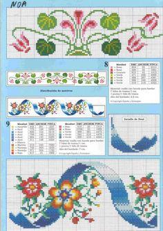 Gallery.ru / Фото #9 - 11 - geminiana Cross Stitch Books, Cross Stitch Bookmarks, Cross Stitch Bird, Cross Stitch Borders, Cross Stitch Designs, Cross Stitching, Cross Stitch Embroidery, Cross Stitch Patterns, Motifs Blackwork