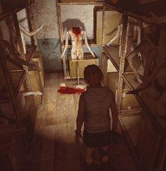 """""""Silent Hill 3.""""  Never trust darn mannequins."""