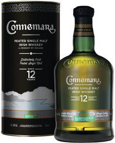 Connemara Irish Peated Single Malt 12 Years Old Whisky Jameson Irish Whiskey, Whiskey Sour, Rye Whiskey Drinks, Irish Whiskey Brands, Single Malt Irish Whiskey, Dinner Party Desserts, Dessert Party, West Cork, Connemara