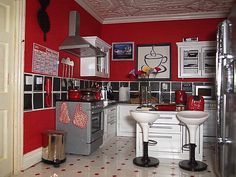 dollhouse rooms modern | Clara's Kitchen I love this too.. Very modern .. And i have seen this ...