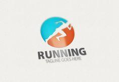 Running Logo by eSSeGraphic on Creative Market