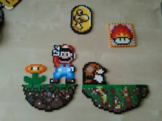 Perler beads Mario World
