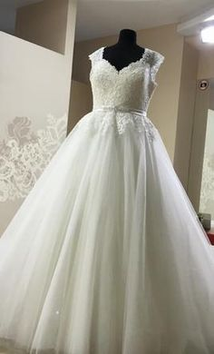 #plussize #wedding dresses Other Diamante sposa: buy this dress for a fraction of the salon price on PreOwnedWeddingDresses.com