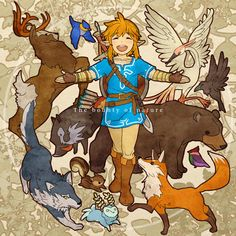 When I first saw the cover of The Legend of Zelda: Breath of the Wild, a picture like this came to mind. The Legend Of Zelda, Legend Of Zelda Memes, Legend Of Zelda Breath, Link Zelda, Twilight Princess, Disney Princess, Princesa Zelda, Image Manga, Wind Waker