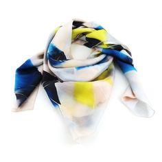 Foulard en twill de soie  - Bonana Van Mil - foulards - Les créateurs de Paris