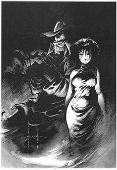Shadow by S Kieth, in JimReid's Kieth, Sam Comic Art Gallery Room - 724175