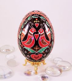 Goose Pysanky, The Wedding Egg, Ukraine