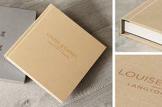 Wedding Album 14x10 25x35cm Linen cover by HandmadePhotoGifts