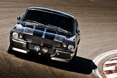 Classic Mustang 1967 my first car in deal blue white Shelby strips