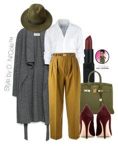 """Untitled #2836"" by stylebydnicole ❤ liked on Polyvore featuring NARS Cosmetics, Hermès, Zara, Frank & Eileen, Yves Saint Laurent, Penmayne of London, Miu Miu and Dolce&Gabbana"