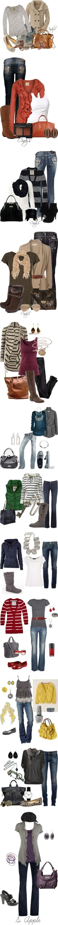 """Fall Fashion"" by riddlechick ❤ liked on Polyvore"