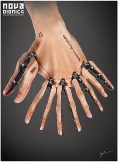 ArtStation - NOVA Bionics - 10Finger, Georg Löschner