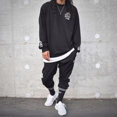 ** Streetwear daily - - - Click this picture to check out our clothing label ** Urban Fashion, Mens Fashion, Fashion Outfits, Boho Fashion, Style Fashion, Street Outfit, Street Wear, Cool Outfits For Men, Clothing Labels