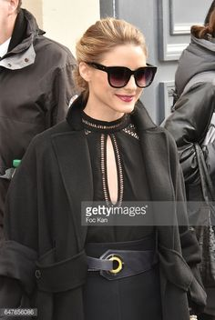 Olivia Palermo attends the Christian Dior show as part of the Paris Fashion Week Womenswear Fall/Winter 2017/2018 on March 3 2017 in Paris France
