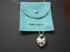 Tiffany & Co. Puffed Heavy Heart Necklace. Get the lowest price on Tiffany & Co. Puffed Heavy Heart Necklace and other fabulous designer clothing and accessories! Shop Tradesy now